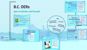 Overview of OERs in BC