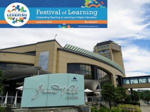 Festival of Learning location
