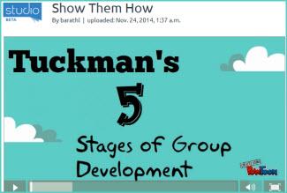 Powtoon Tuckmans 5 Stages
