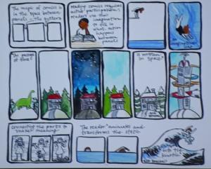 Meghan Parker's thesis comic